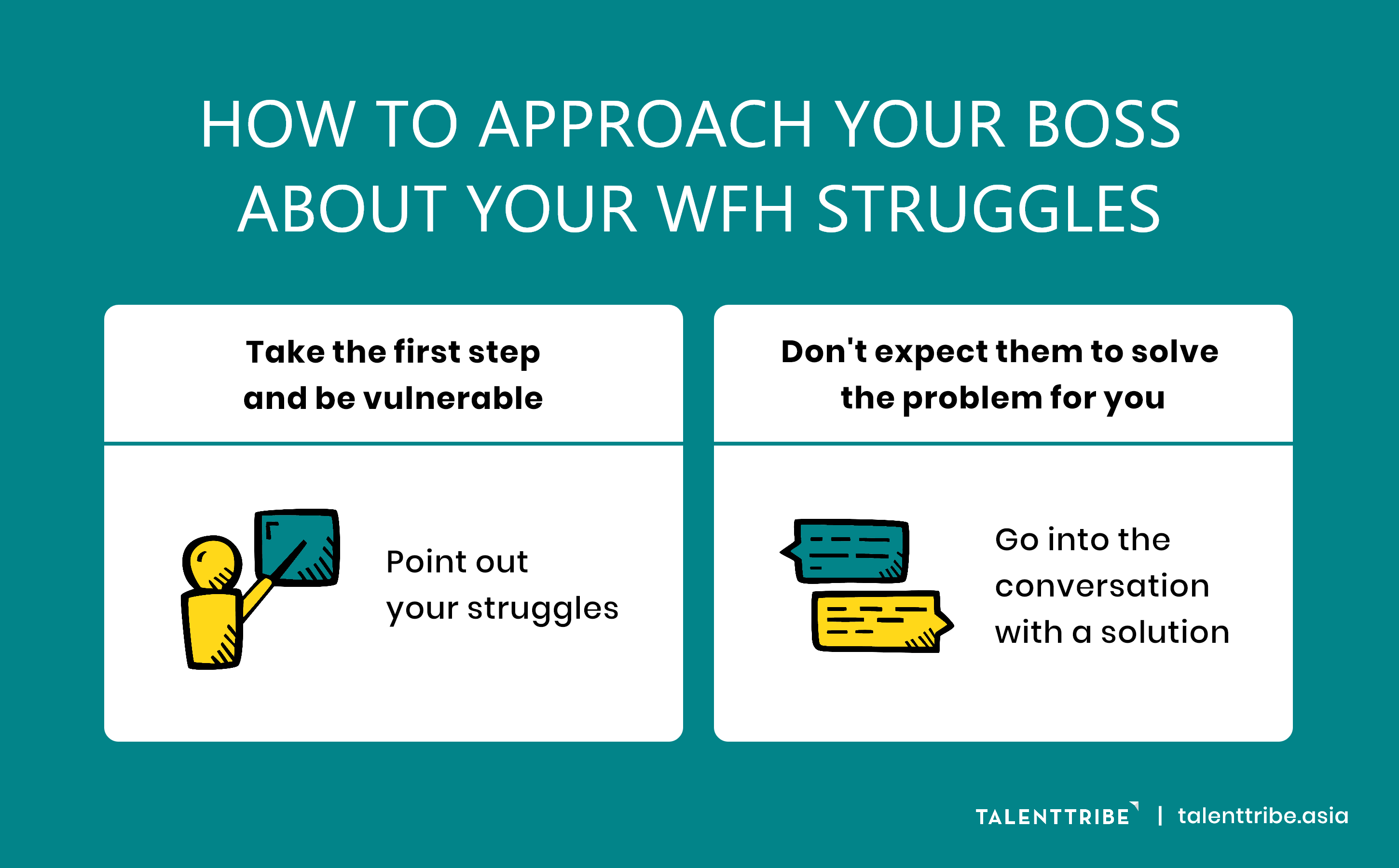 How To Approach Your Boss About Your Work From Home Struggles