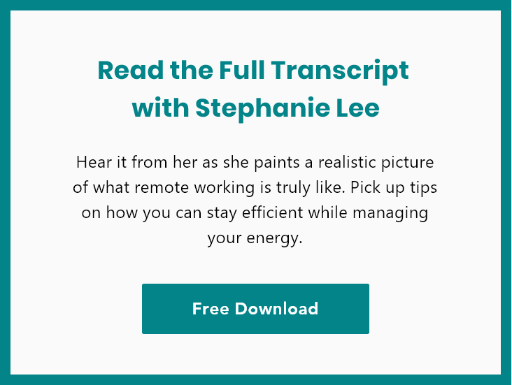 Get the Full Transcript of Interview with Stephanie Lee - Free Download