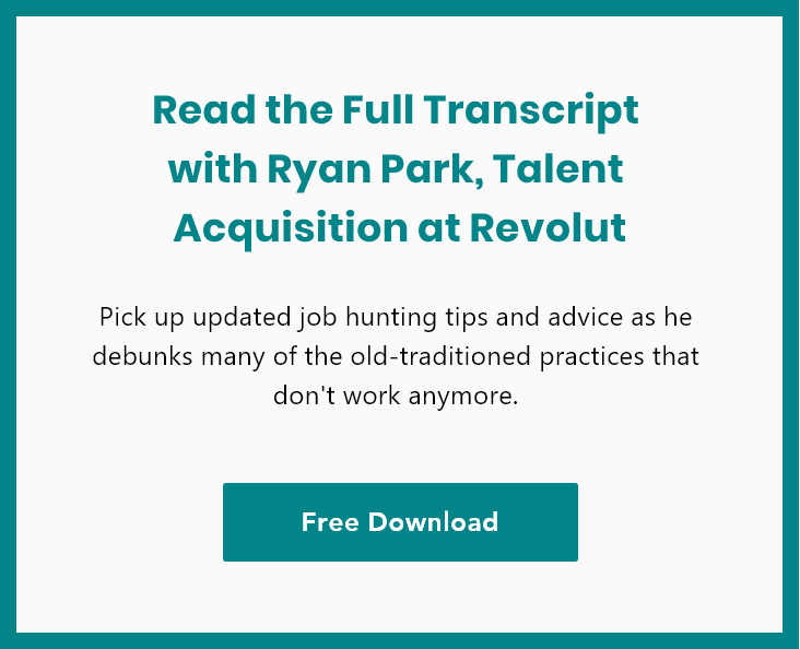 Image link to download Ryan Park interview full transcript mobile