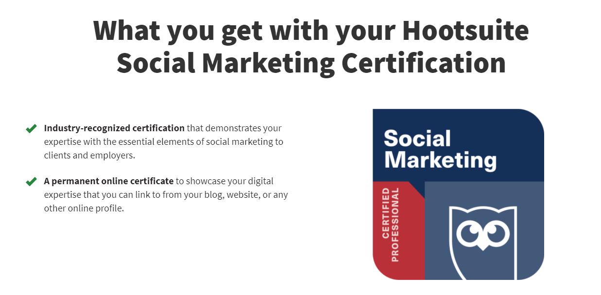 Hootsuite Academy Social Media Training